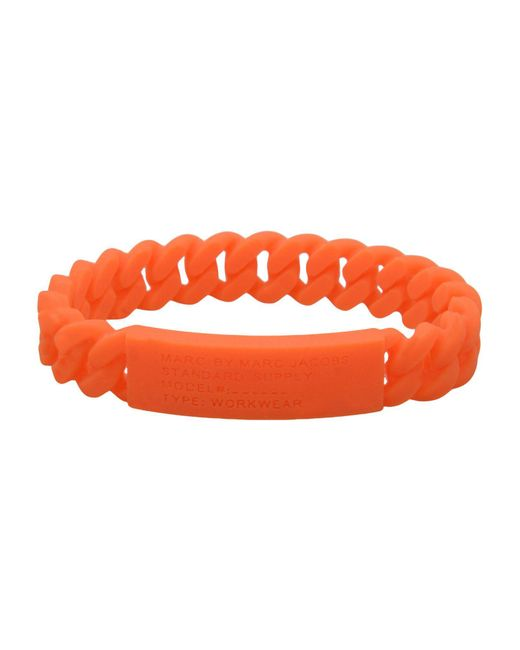 Marc By Marc Jacobs - Orange Bracelets - Lyst