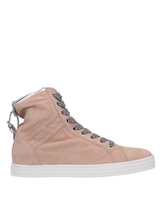 ed8563b08b6 Hogan Rebel - Pink High-tops   Sneakers - Lyst ...