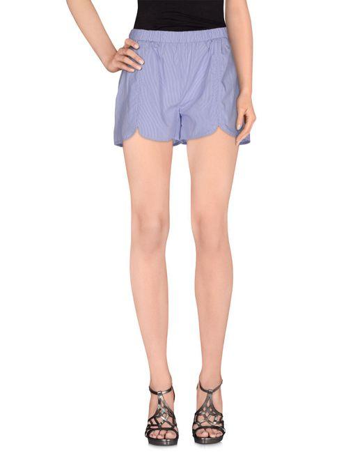 Aglini - Blue Shorts - Lyst