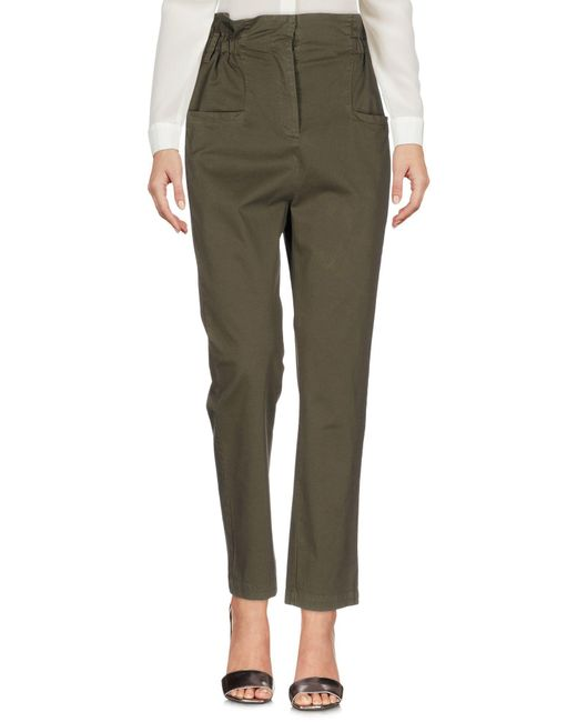Fairly - Green Casual Pants - Lyst
