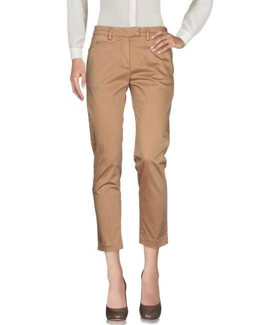 Dondup - Natural Casual Trouser - Lyst