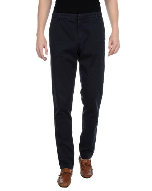 KENZO - Blue Casual Pants for Men - Lyst