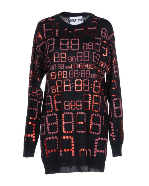 Moschino - Red Jumper - Lyst