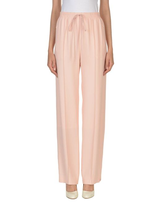 Chloé - Pink Casual Trouser - Lyst
