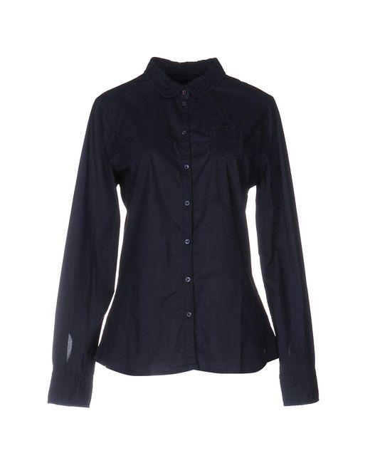 Napapijri | Blue Shirt | Lyst