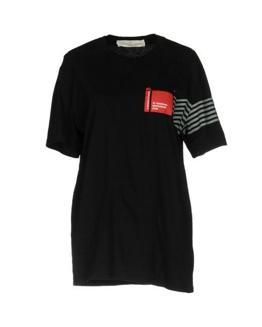 Golden Goose Deluxe Brand - Black T-shirt - Lyst
