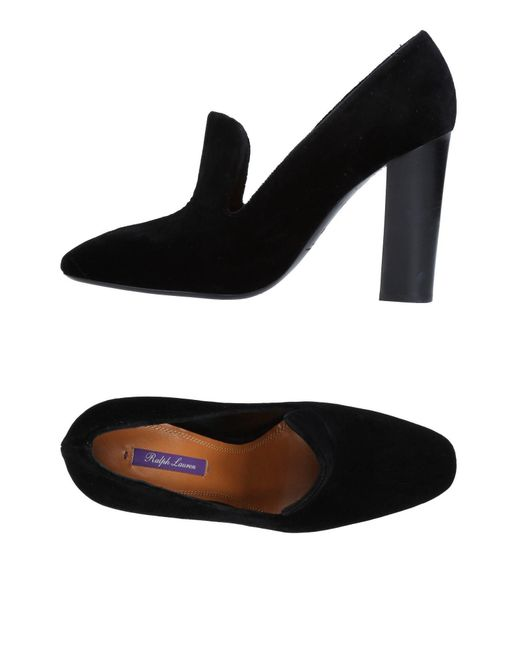 Ralph Lauren Collection - Black Loafer - Lyst