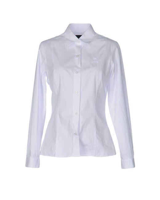 Philipp Plein - White Shirt - Lyst