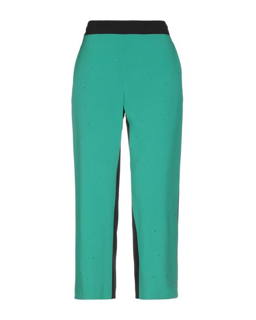 Pianurastudio - Green Casual Trouser - Lyst
