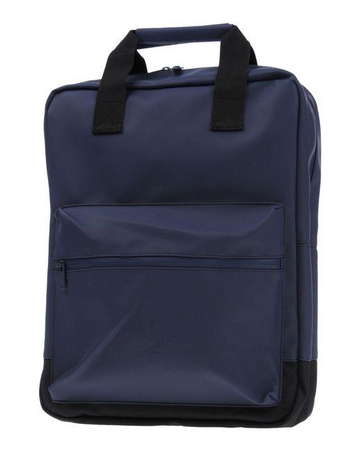 Rains - Blue Backpacks & Fanny Packs for Men - Lyst