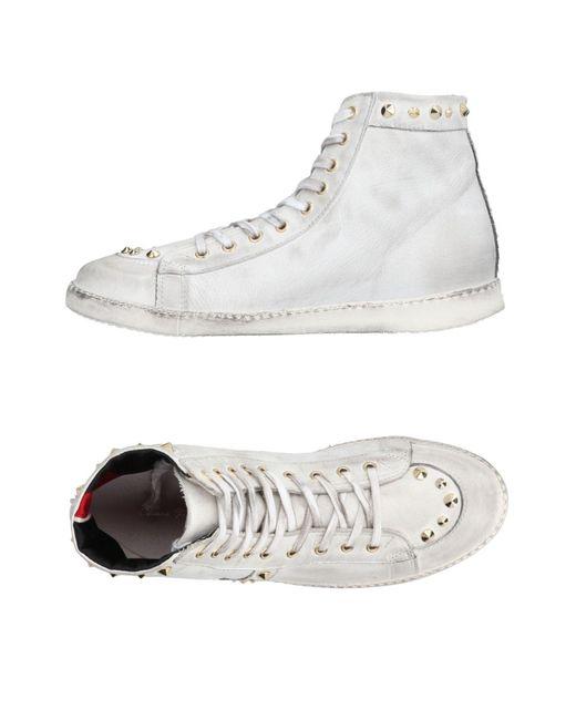 Chiara Ferragni - White High-tops & Sneakers - Lyst