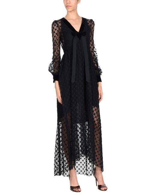 Philosophy di Alberta Ferretti - Black Long Dress - Lyst