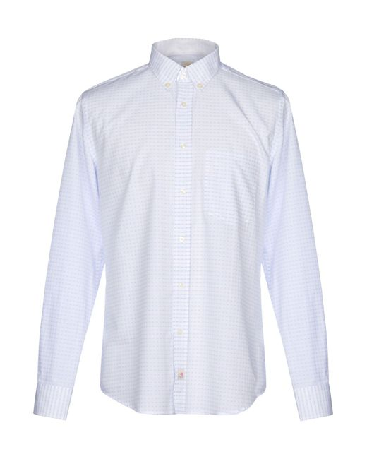 Panama - White Shirt for Men - Lyst
