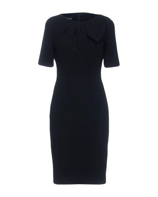 Boutique Moschino - Black Knee-length Dress - Lyst