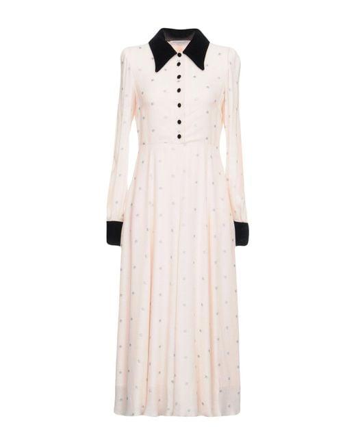 Philosophy Di Lorenzo Serafini - Pink 3/4 Length Dresses - Lyst
