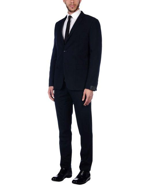 Alessandro Dell'acqua - Blue Suit for Men - Lyst