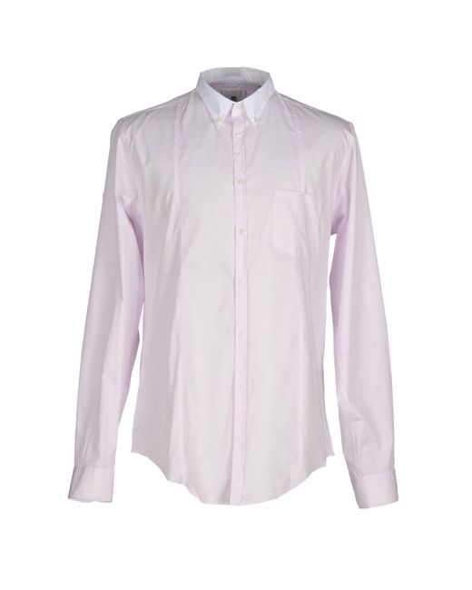 Bagutta - Pink Shirt for Men - Lyst