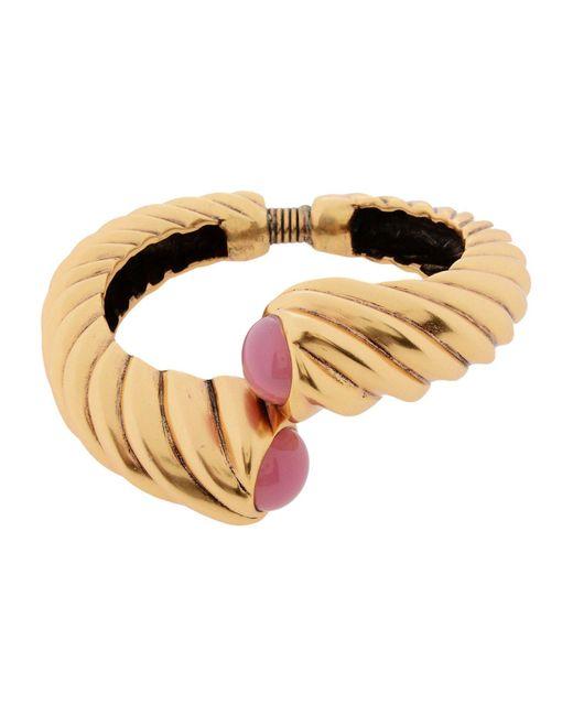 Oscar de la Renta - Metallic Bracelet - Lyst