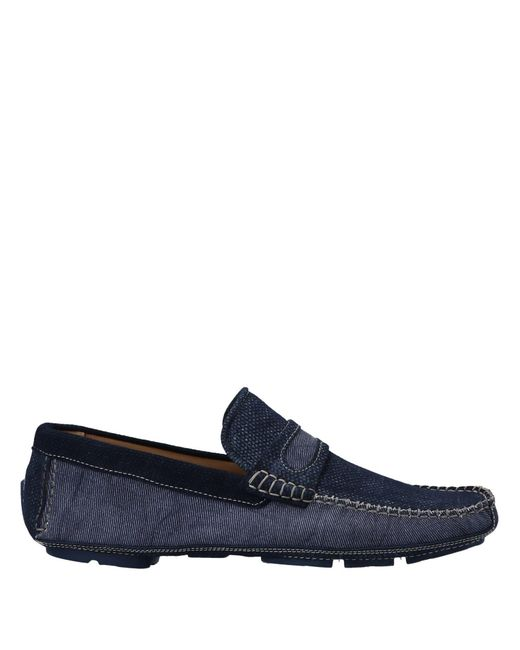 Gold Brothers - Blue Loafers for Men - Lyst