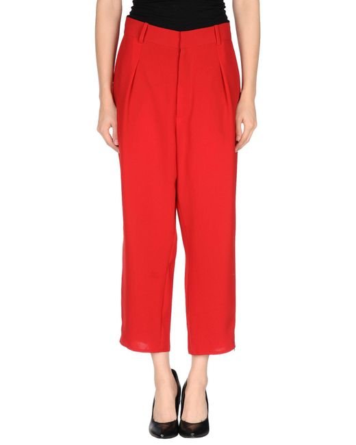 Assembly New York - Red 3/4-length Short - Lyst