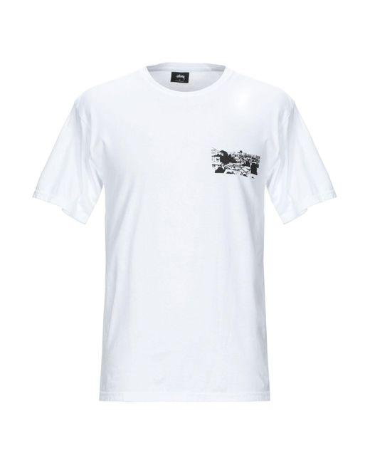T-shirt Stussy pour homme en coloris White