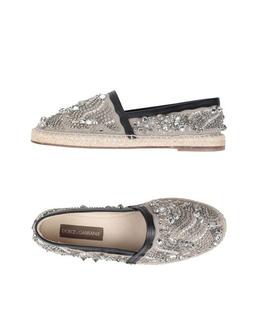 Dolce & Gabbana - Gray Espadrilles for Men - Lyst