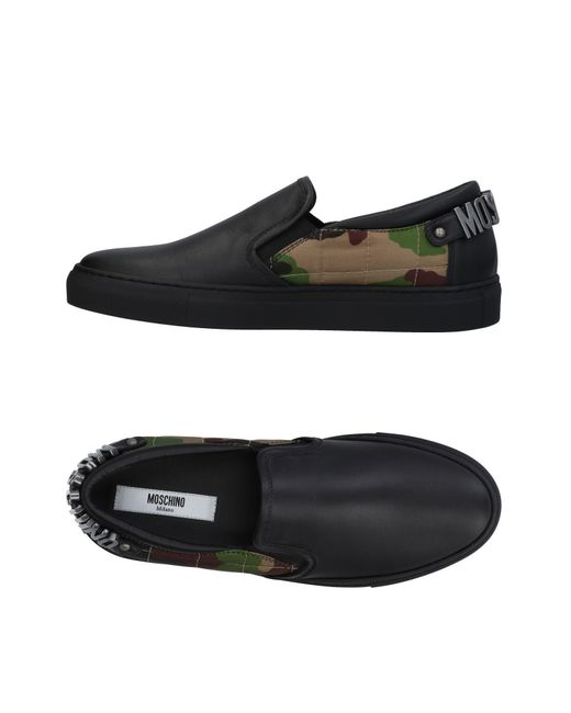 Moschino - Black Low-tops & Sneakers - Lyst