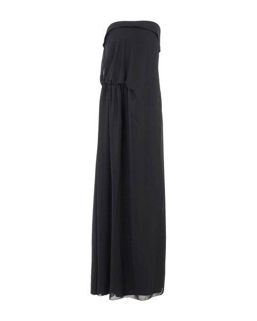 Hanita   Black 3/4 Length Dress   Lyst