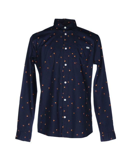 Jack & Jones | Blue Shirt for Men | Lyst