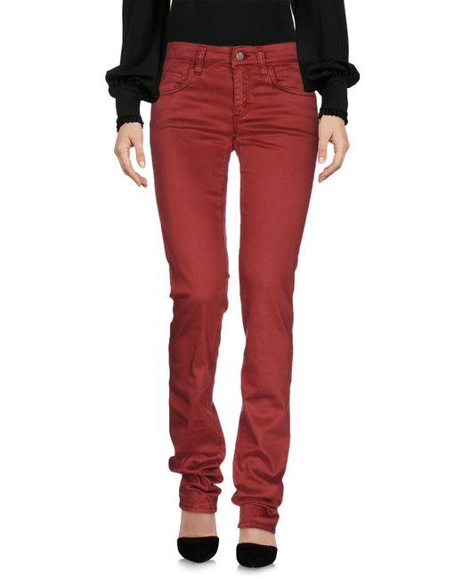 Liu Jo - Red Casual Trouser - Lyst