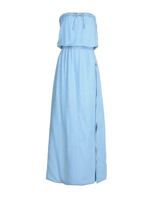 Relish - Blue Long Dress - Lyst