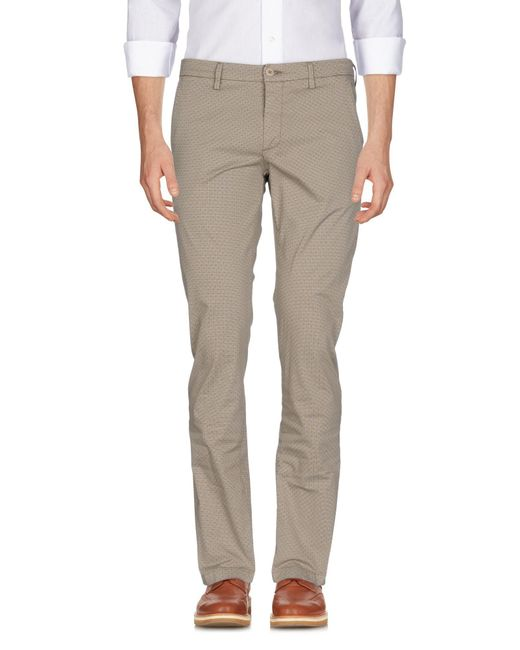 Massimo Rebecchi - Natural Casual Pants for Men - Lyst