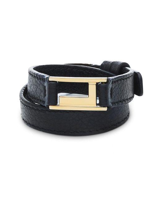 Lancel - Black Bracelet - Lyst