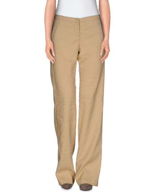 Armani Jeans - Natural Casual Pants - Lyst