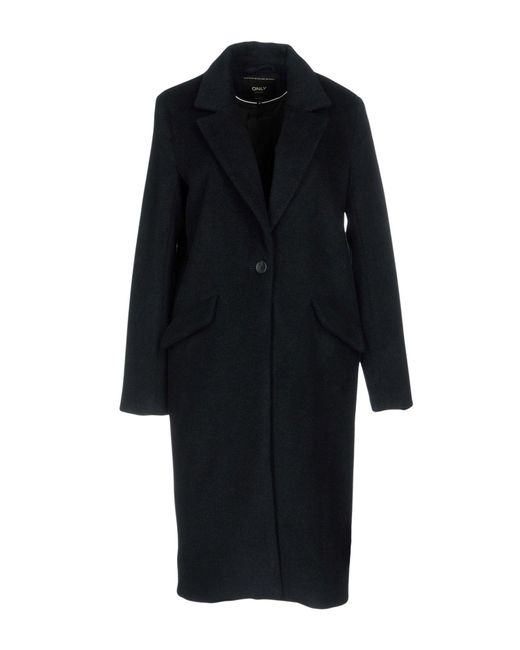 ONLY - Blue Coat - Lyst