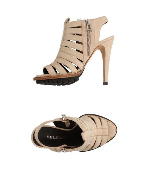 Belstaff - Natural Sandals - Lyst