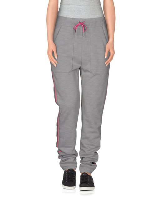 T By Alexander Wang - Gray Casual Pants - Lyst