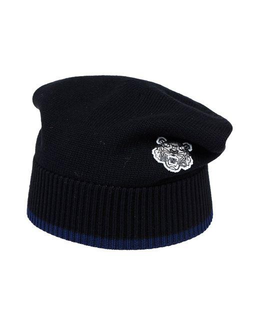 KENZO - Black Hat for Men - Lyst