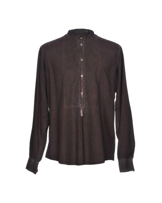 Massimo Alba - Purple Shirt for Men - Lyst