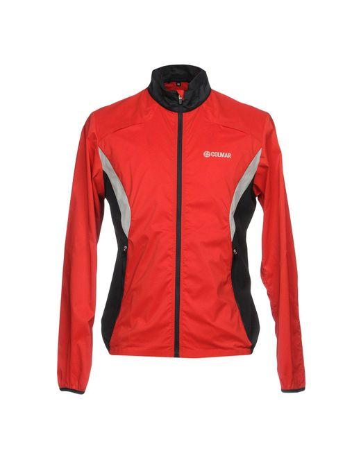 lyst colmar jacket in red for men. Black Bedroom Furniture Sets. Home Design Ideas