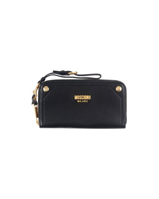 Moschino - Black Wallets - Lyst