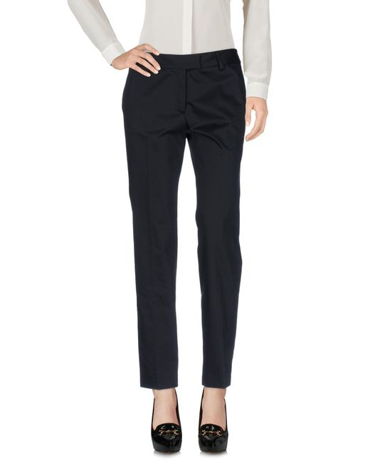 Boutique Moschino | Black Casual Pants | Lyst