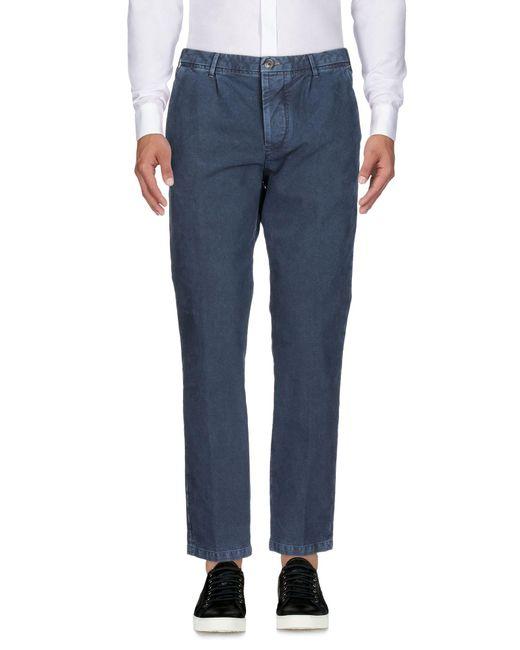 Care Label - Blue Pantalones for Men - Lyst