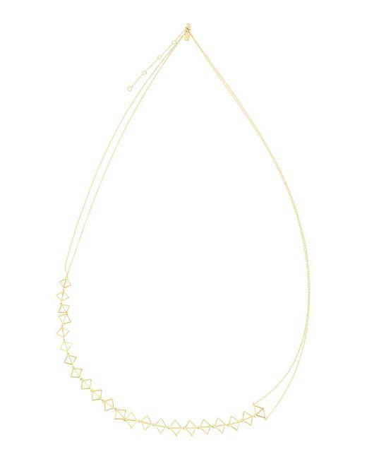 Arme De L'Amour - Metallic Necklace - Lyst