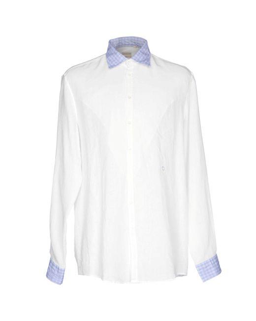 Massimo Alba   White Shirt for Men   Lyst