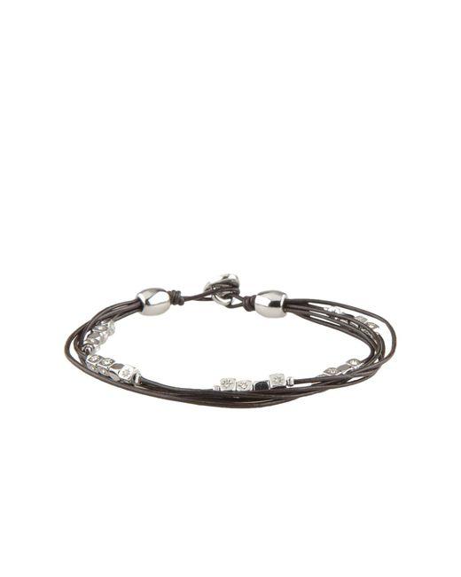 Fossil - Black Bracelet - Lyst