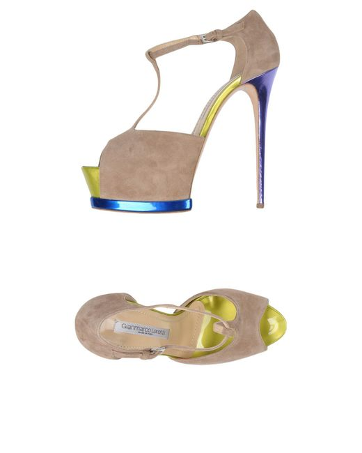 Gianmarco Lorenzi - Natural Sandals - Lyst