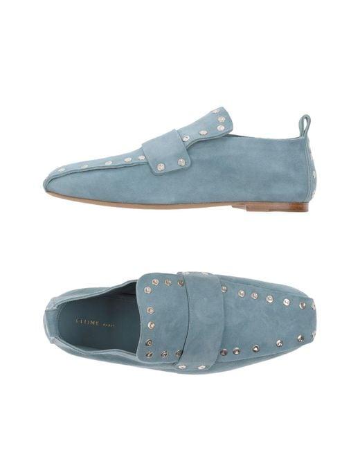 Céline - Blue Loafer - Lyst