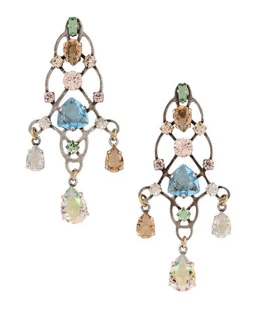 Lanvin | Metallic Earrings | Lyst