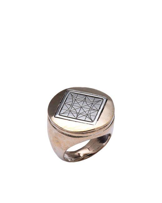 PAOLA GRANDE - Metallic Ring - Lyst